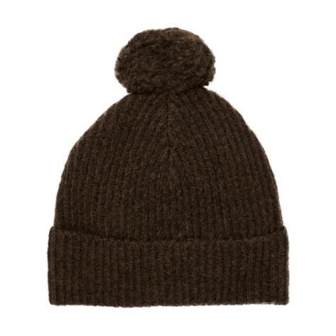 Maison Scotch Damen Mütze Wool Blend Knitted Beanie 147509-0813 Military Melange | One size