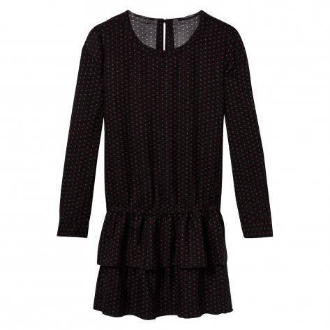 Maison Scotch Damen Kleid Ruffled Dress 148105-18 L Combo B   L