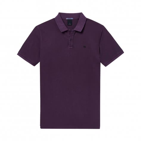 Scotch & Soda Herren Poloshirt Classic Garment-Dyed Polo 145549