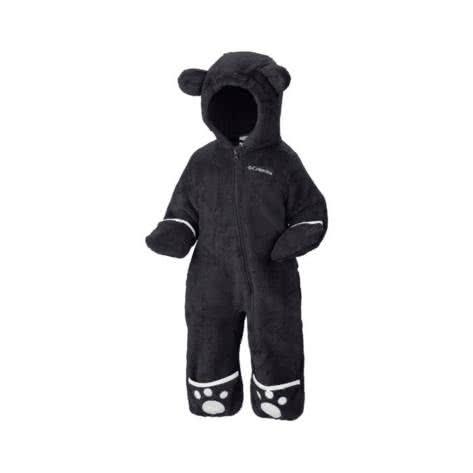 Columbia Baby Fleece Overall Foxy Baby II 1523721-010 3/6 Black | 3/6