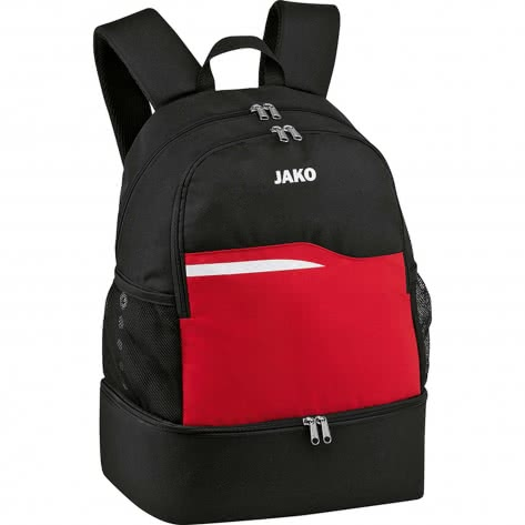 Jako Rucksack Competition 2.0 1818-01 Schwarz/Rot   One size