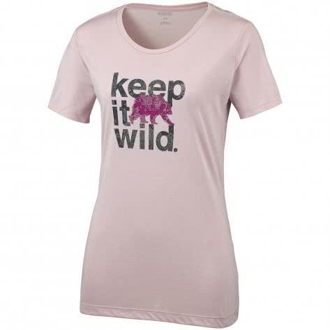 Columbia Damen T-Shirt Outdoor Elements™ III Tee 1822701-618 S Mineral Pink-Keep it Wild | S