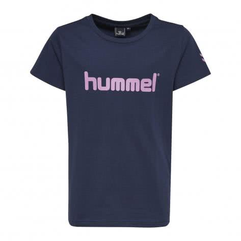 Hummel Mädchen T-Shirt Veni SS Tee AW17 19411 Total Eclipse Größe 128,140,152,164