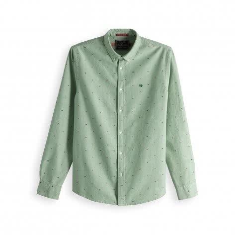 Scotch & Soda Herren Langarmhemd Summer Bright Shirt 148860-0221 XL Combo E   XL
