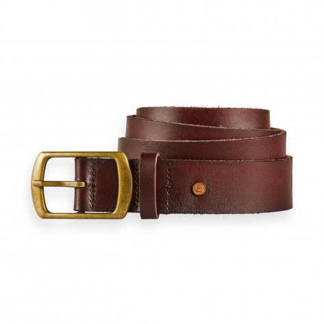 Scotch & Soda Herren Gürtel Classic Wide Leather Belt 149187-1693 XL Mahogany | XL