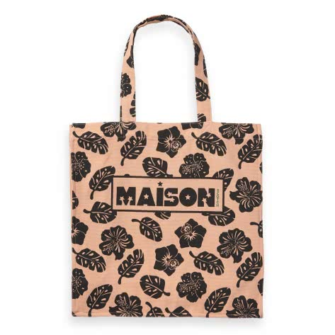 Maison Scotch Damen Tragetasche Graphic Printed Tote Bag 150365-17 Combo A | One size