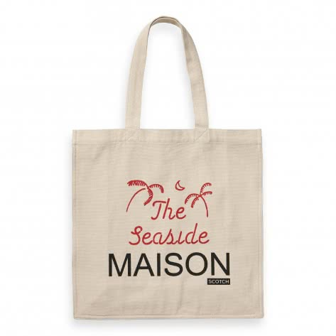 Maison Scotch Damen Tragetasche Graphic Printed Tote Bag 150365-18 Combo B | One size