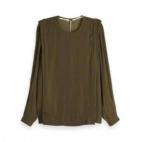 Maison Scotch Damen Langarmshirt Long Sleeve Top 149832