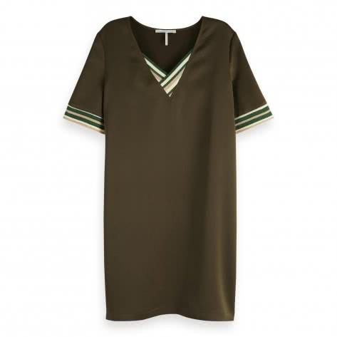 Maison Scotch Damen Kleid V-Neck Dress 149855