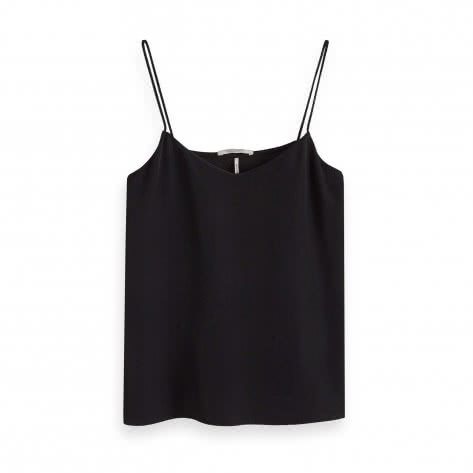 Maison Scotch Damen Tanktop Top With Spaghetti Straps 150217