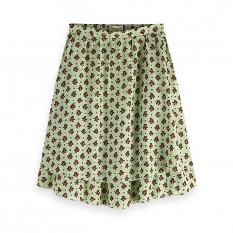 Maison Scotch Damen Rock Printed Double Layer Skirt 149931