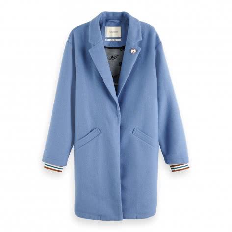 Maison Scotch Damen Mantel Bonded Wool Coat 149986
