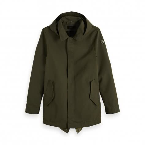 Scotch & Soda Herren Parka Classic Parka Jacket 148685