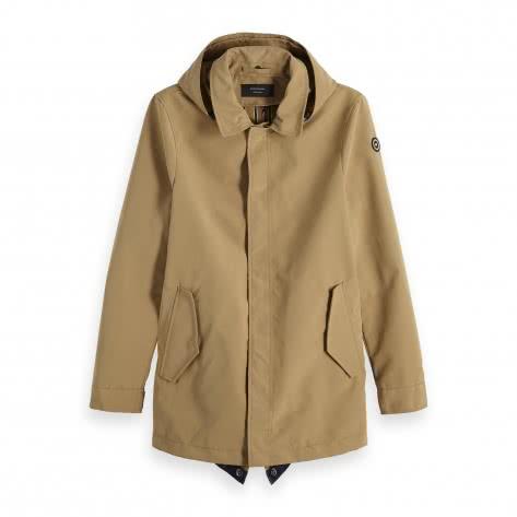 Scotch & Soda Herren Parka Classic Parka Jacket 148685-0137 XL Sand | XL