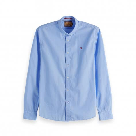 Scotch & Soda Herren Langarmhemd Classic Crispy Shirt 148855