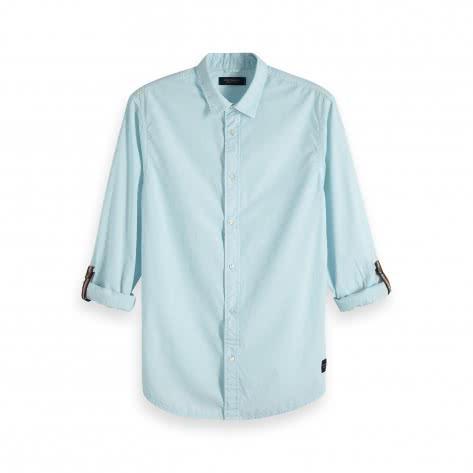 Scotch & Soda Herren Langarmhemd Classic Washed Shirt 151207