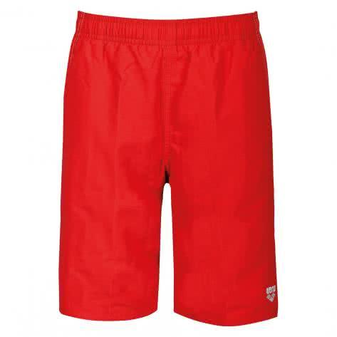 Arena Jungen Badeshort Fundamentals Jr Long Bermuda 1B360 RED,WHITE Größe 116,128,140,152,164