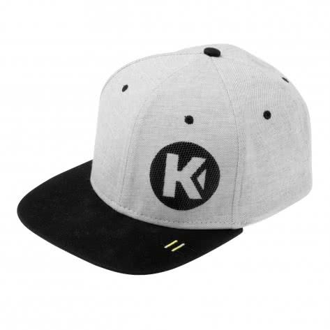 Kempa Kappe Flatcap 200510602 Light Grau Melange | One size