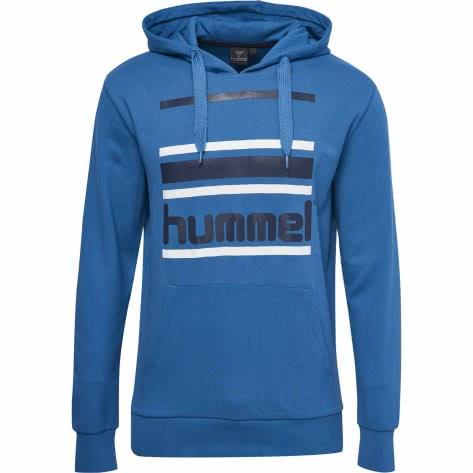 Hummel Herren Kapuzenpullover Bay Hoodie 201655-8242 L Vallarta Blue | L