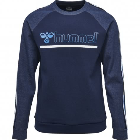 Hummel Herren Pullover Ace Sweatshirt 201657-7459 S Dress Blue | S