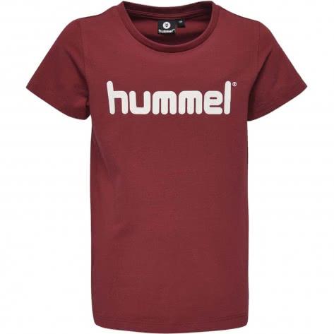 Hummel Mädchen T-Shirt Veni T-Shirt S S 201756 Rumba Red Größe 128,140,152,164