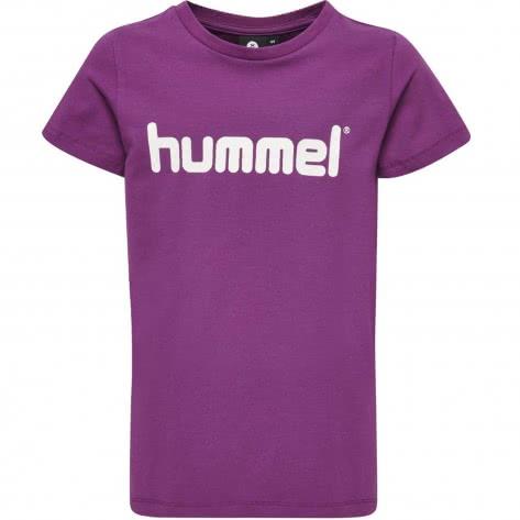 Hummel Mädchen T-Shirt Veni T-Shirt S S 201756 Grape Juice Größe 128,140,152,164