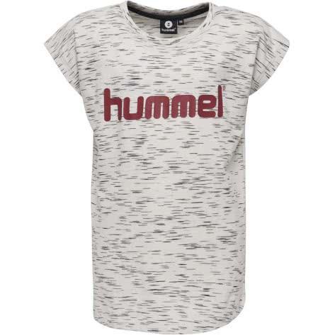 Hummel Kinder T-Shirt Limba T-Shirt S/S 201757-9282 128 Whisper White Melange | 128