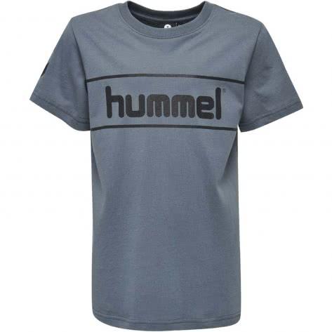 Hummel Jungen T-Shirt Jaki T-Shirt S S 201779 Stormy Weather Größe 128,140,152,164