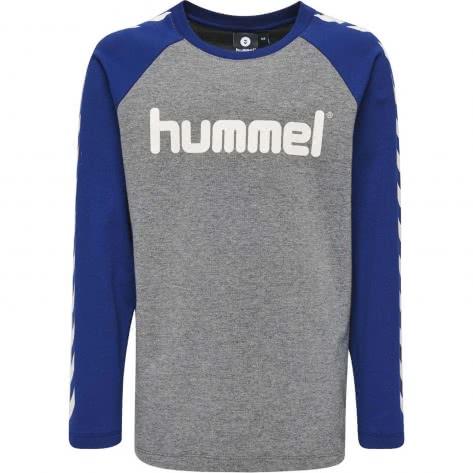 Hummel Jungen Langarmshirt Boys T-Shirt L S 201780 Sodalite Blue Größe 128,164
