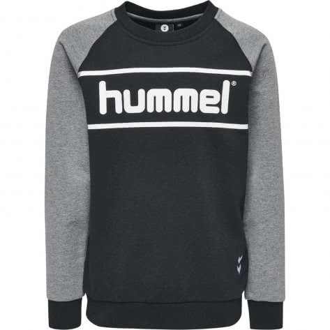 Hummel Jungen Pullover Mali Sweatshirt 201787 Black Größe 128,140,152,164