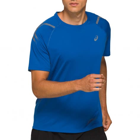 Asics Herren Funktionsshirt ICON SS TOP 2011A981-409 S Tuna Blue | S