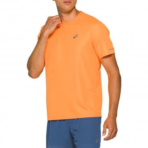 Asics Herren Laufshirt Ventilate SS Top 2011A766-800 L Orange Pop | L