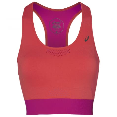 Asics Damen Bra Top Cooling Seamless Bra 2012A255-700 FLASH CORAL/PINK RAVE | S