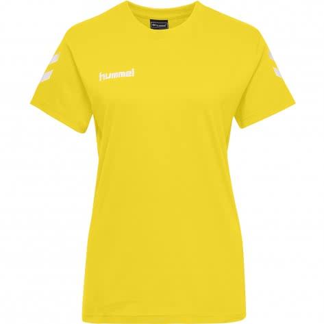 Hummel Damen T-Shirt Go Cotton T-Shirt Woman S/S 203440