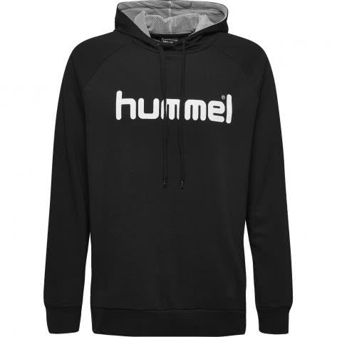 Hummel Herren Kapuzenpullover Go Cotton Logo Hoodie 203511