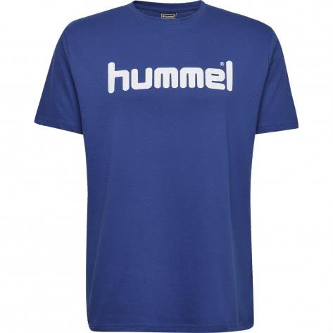 Hummel Herren T-Shirt Go Cotton Logo T-Shirt S/S 203513