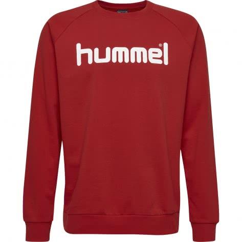 Hummel Herren Pullover Go Cotton Logo Sweatshirt 203515