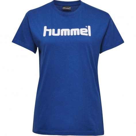 Hummel Damen T-Shirt Go Cotton Logo T-Shirt Woman S/S 203518