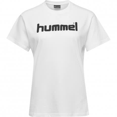 Hummel Damen T-Shirt Go Cotton Logo T-Shirt Woman S/S 203518