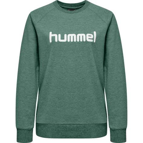 Hummel Damen Pullover Go Cotton Logo Sweatshirt Woman 203519