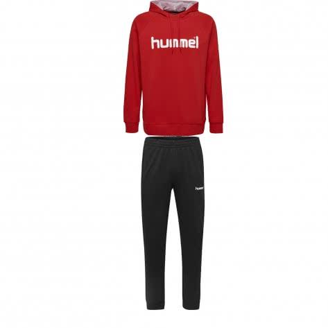 Hummel Herren Sweatanzug Go Cotton Logo 203511+203530