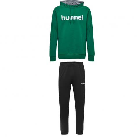 Hummel Kinder Sweatanzug Go Cotton Logo 203512+203531