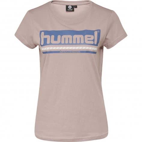 Hummel Damen T-Shirt LAILA T-SHIRT S/S 204575-3347 S BURNISHED LILAC | S