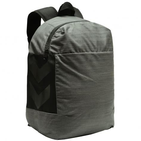 Hummel Rucksack Urban Lap Top Back Pack 207149-1502 Black Melange   One Size
