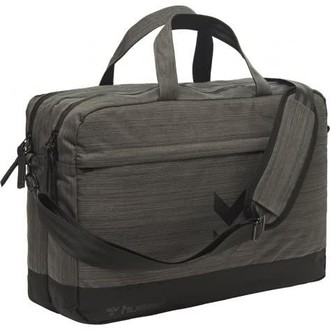 Hummel Tasche Urban Lap Top Shoulder Bag 207152-1502 Black Melange | One Size