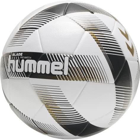Hummel Fußball Blade Pro Match FB 207524-9152 5 White/Black/Gold | 5