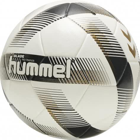 Hummel Fußball Blade Pro Trainer FB 207525-9152 5 White/Black/Gold | 5
