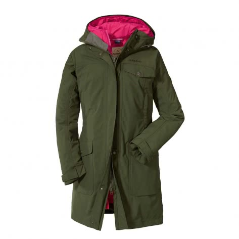 Schöffel Damen Parka 3in1 Jacket Storm Range L1 12478-6760 42 deep depths | 42