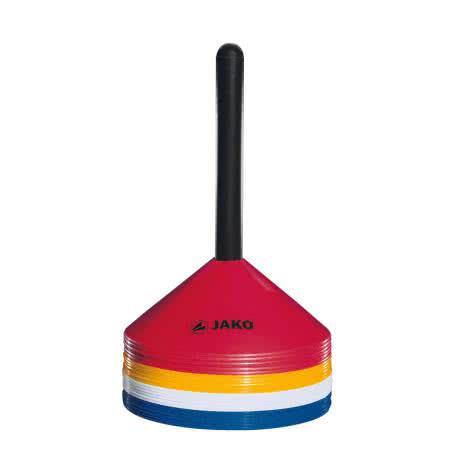 Jako Markierungshütchen 2133-03 Rot/Gelb/Weiß/Blau | One size