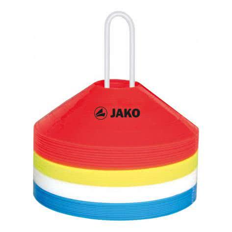 Jako Markierungshütchen 2134-02 Rot/Gelb/Weiß/Blau | One size